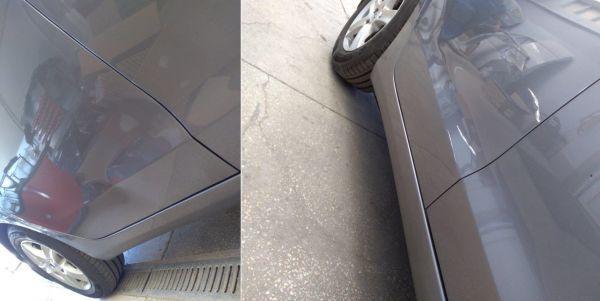 naprawa lakieru przed i po